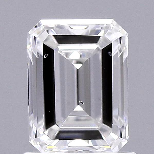 1.03 Carat F-SI1 Ideal Emerald Diamond