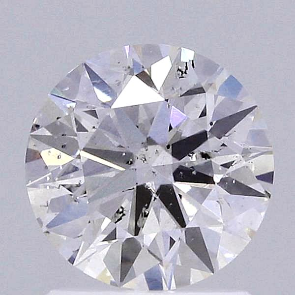 1.18 Carat H-SI2 Ideal Round Diamond