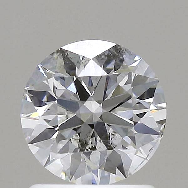 1.08 Carat G-SI2 Ideal Round Diamond