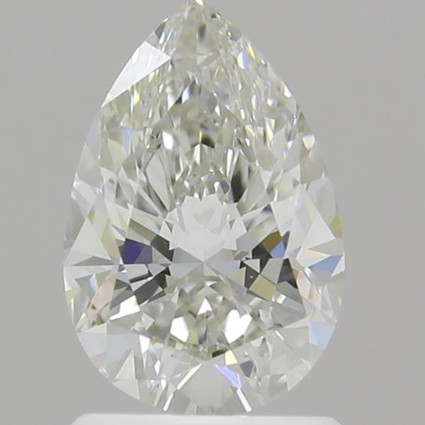 1.23 Carat H-VS1 Ideal Pear Diamond