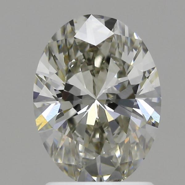 1.50 Carat K-SI1 Ideal Oval Diamond