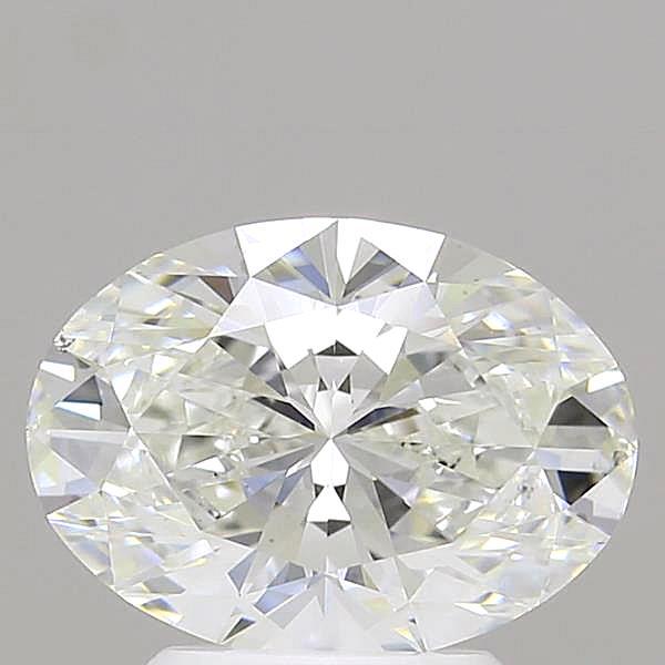2.02 Carat G-VS2 Ideal Oval Diamond