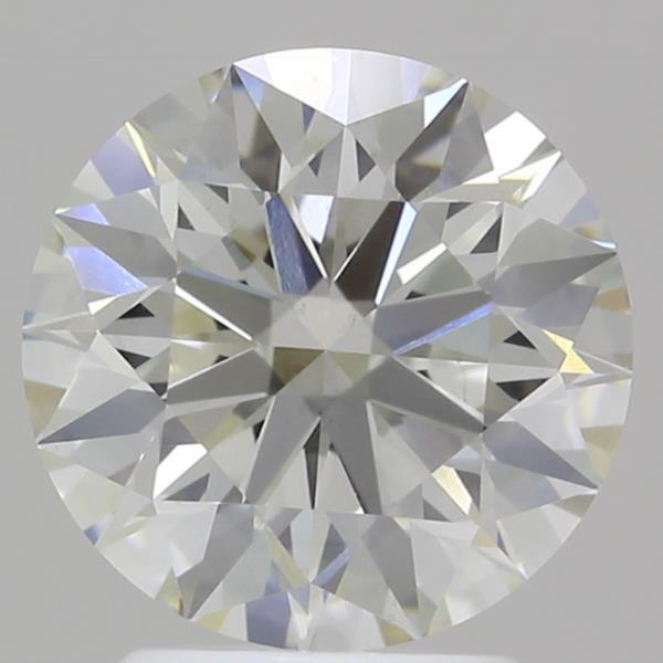 2.56 Carat K-VS2 Ideal Round Diamond