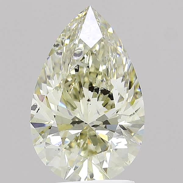 2.35 Carat K-SI2 Ideal Pear Diamond