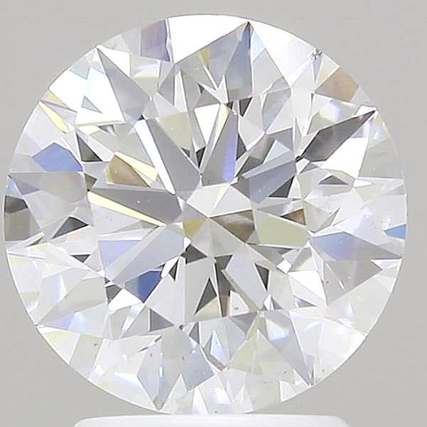 2.45 Carat F-VS2 Ideal Round Diamond