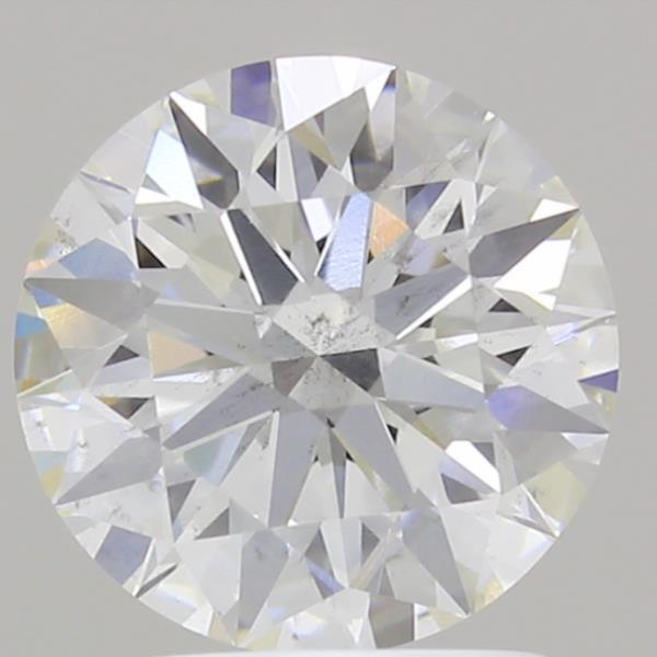 1.62 Carat G-SI1 Ideal Round Diamond