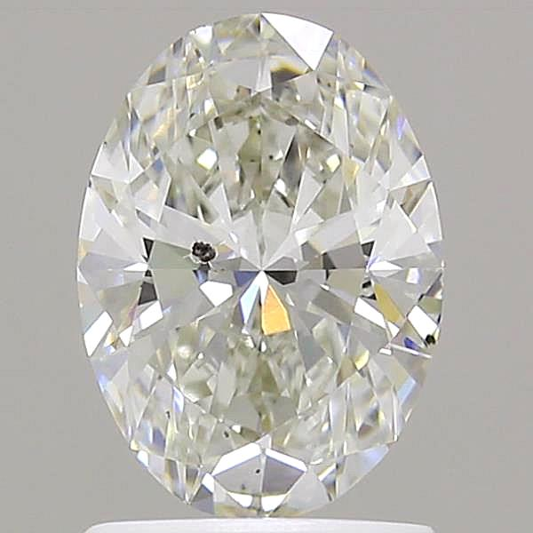 1.20 Carat H-SI2 Ideal Oval Diamond
