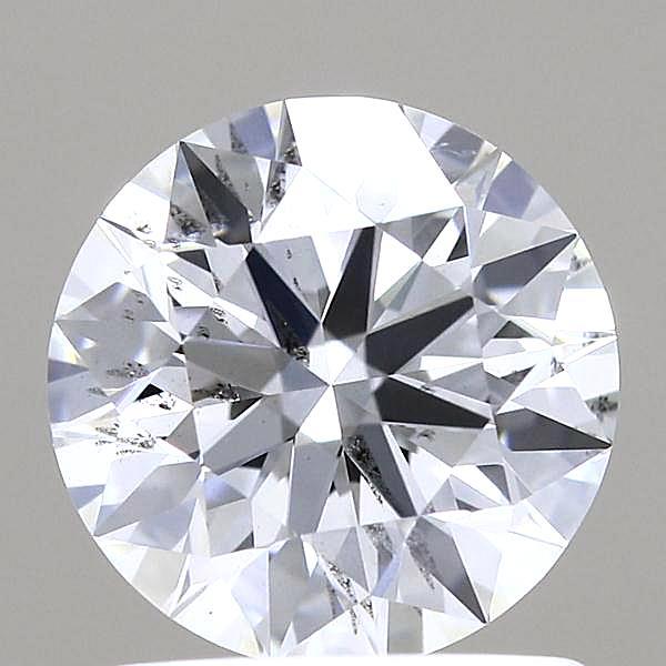 1.02 Carat E-SI2 Ideal Round Diamond