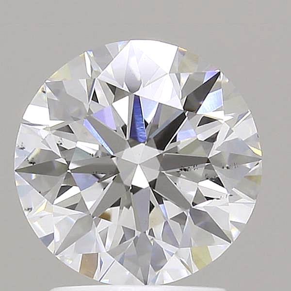 2.02 Carat F-SI1 Ideal Round Diamond