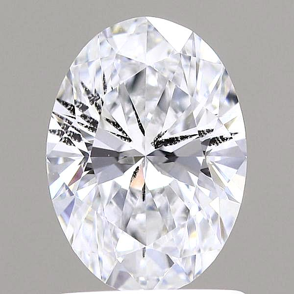 1.03 Carat E-SI2 Ideal Oval Diamond