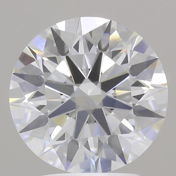 2.69 Carat F-VS1 Ideal Round Diamond