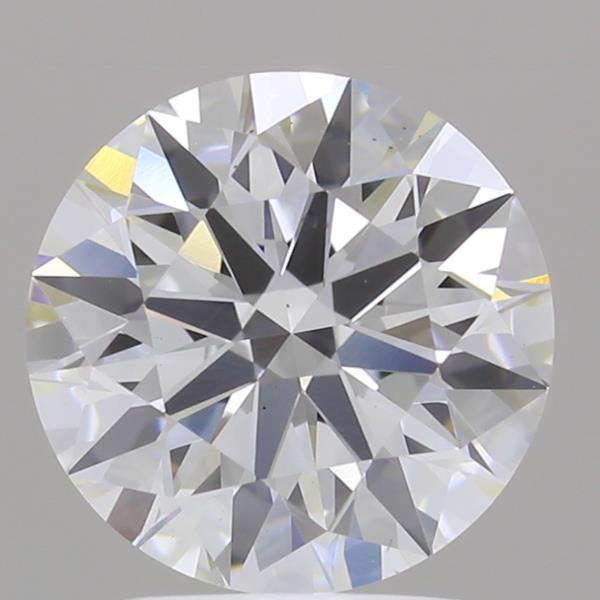 2.34 Carat F-VS1 Ideal Round Diamond